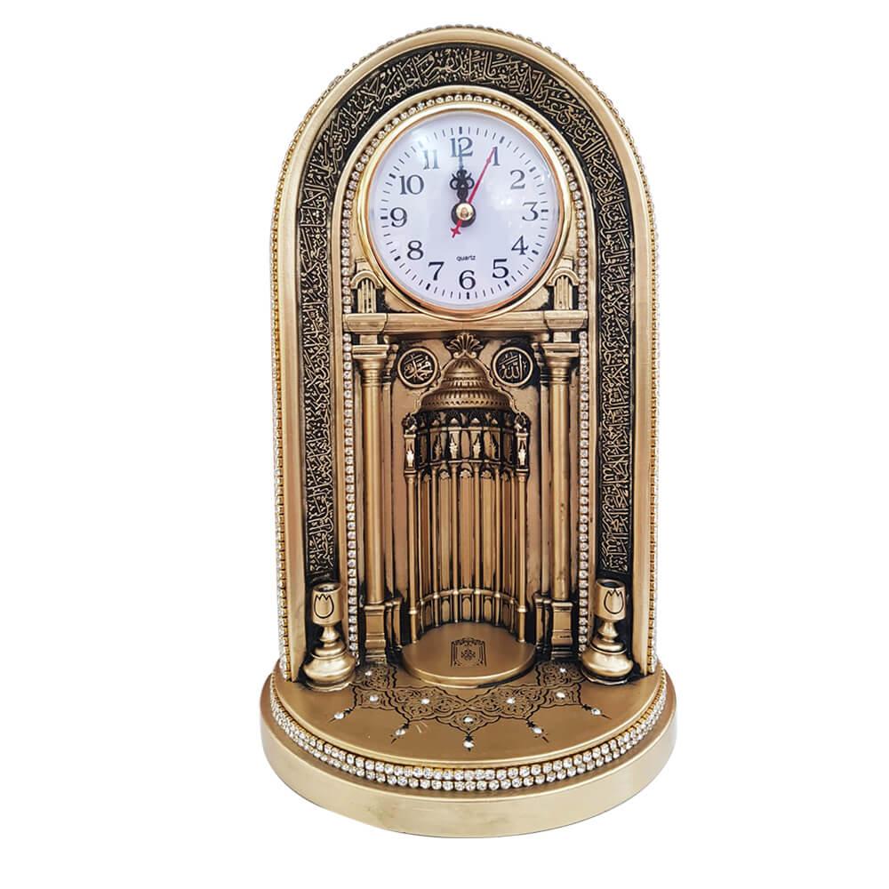 27×16,5 cm Mihraplı Saat Biblo Saatler