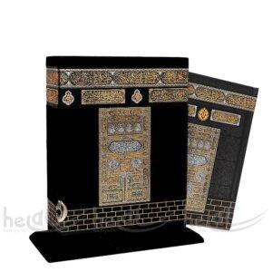 Kabe Görünümlü Kadife Kuran-ı Kerim Lüks Hediyelik Kitaplar