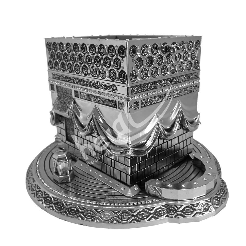 12x24cm Büyük Esmaül Hüsna Yazılı Kristal Taşlı Kabe Kaideli Biblo Biblolar