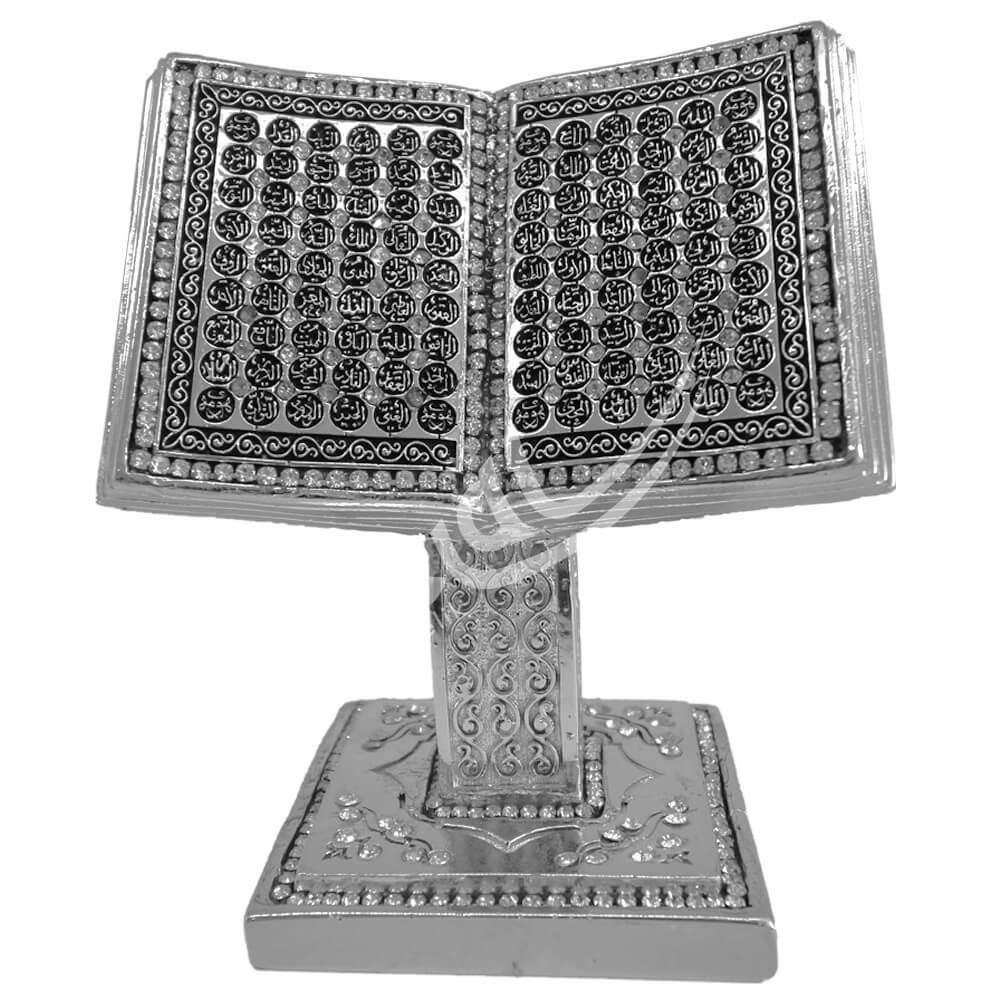 19x20cm Büyük Kuran Kitap Rahle Esmaul Hüsna Biblo Biblolar
