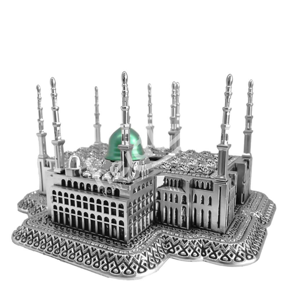 21x30cm Büyük Mescidi Nebevi Camii Medine Maket Biblo Biblolar