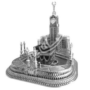 24×27.5x26cm Mescidi Haram Kabe Maketi Esmaül Hüsna Yazılı Zemzem Tower Biblo Biblolar